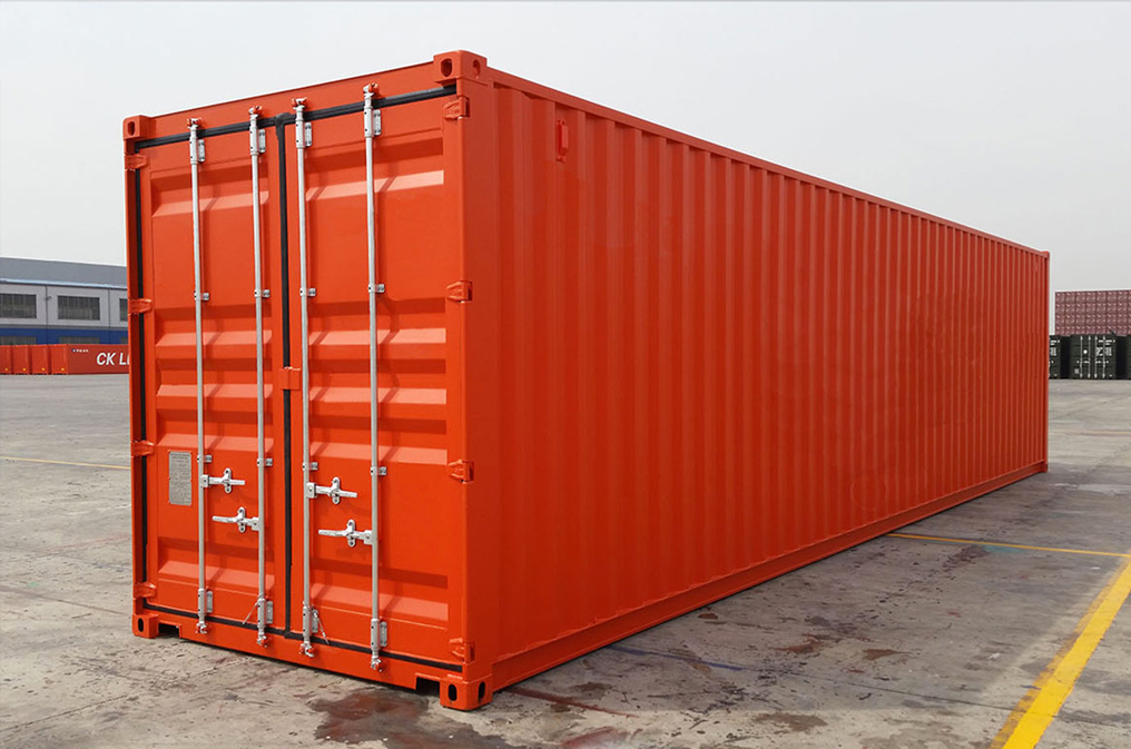 detalii contianer 40 hight cube standard transport marfa china