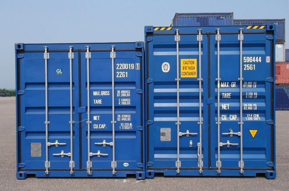 diferanta containere 40 standard si 40 hight cube