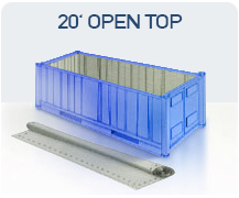 container 20 open top china