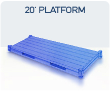 container 20 platform import china