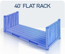 container 40 flat rack import china