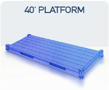 container 40 platform import china