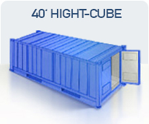 container transport marfa china 40 hight cube