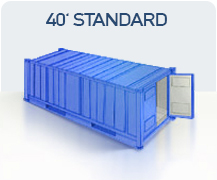 container transport marfa china 40 standard